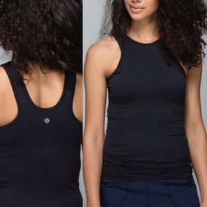 Lululemon Seamlessly Covered High Neck Tank